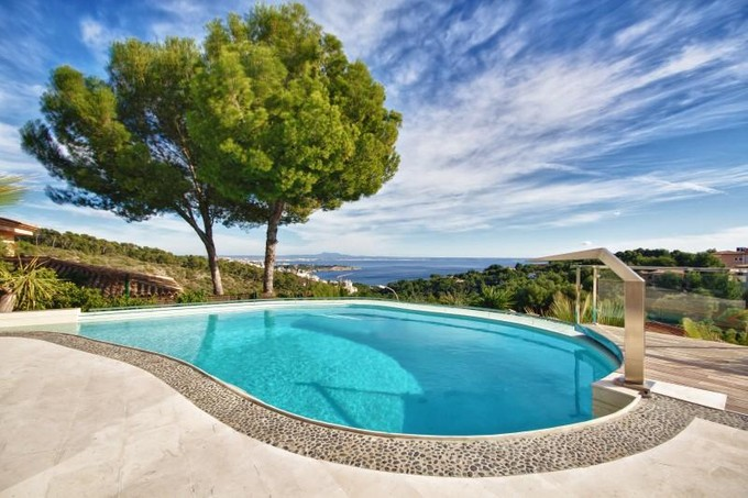 Einfamilienhaus for sales at Moderne Villa Mit Meerblick In Golf Bendinat  Calvia, Mallorca 07181 Spanien