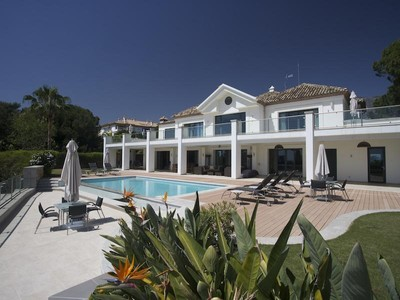 Vivienda unifamiliar for sales at Spectacular contemporary villa with fantastic sea   Marbella, Costa Del Sol 29602 España