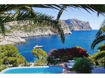 Multi-Family Home for sales at Unique sea line villa with boat house, sea access  Port Andratx, Mallorca 07151 Spain
