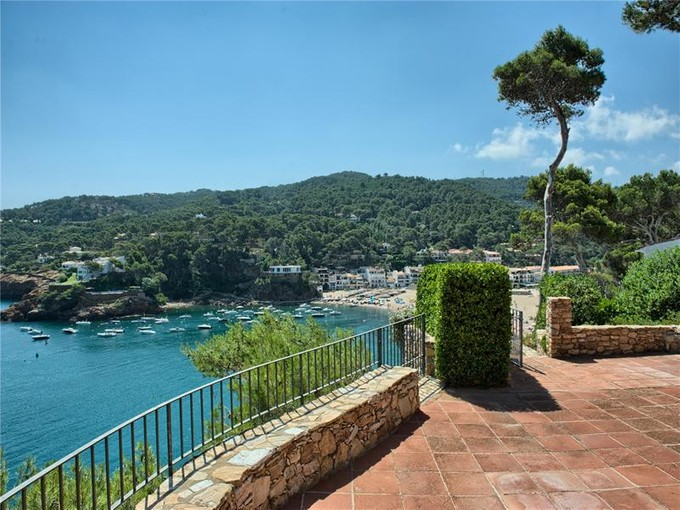 Single Family Home for sales at Villa in front of the sea in Sa Riera, Begur  Begur, Costa Brava 17255 Spain