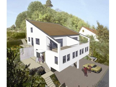 Single Family Home for sales at Semidetached house no.1 with an extraordinary view    Bingen, Rheinland Pfalz 55411 Germany