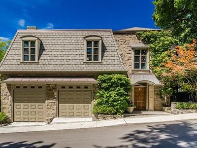 Einfamilienhaus for sales at Westmount 9 Lansdowne Ridge Westmount, Quebec H3Y 1A1 Kanada