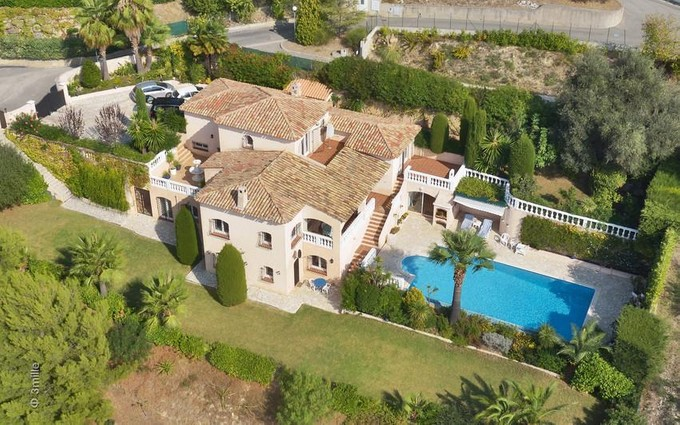 Single Family Home for sales at Villa in Private Domain with Beautiful Sea Views  Nice, Provence-Alpes-Cote D'Azur 06000 France
