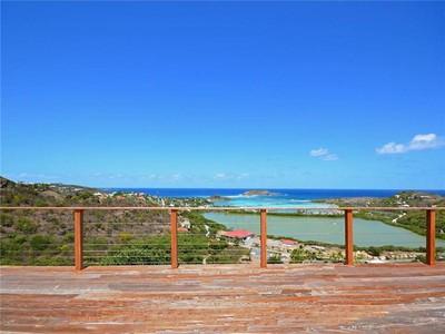 獨棟家庭住宅 for sales at Villa La Côte Sauvage   Grand Cul De Sac, 聖巴泰勒米島的城市 97133 聖巴泰勒米島