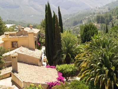 Anderer Wohnungstyp for sales at A post card property in the mountains near Altea  Altea, Alicante Costa Blanca 03590 Spanien