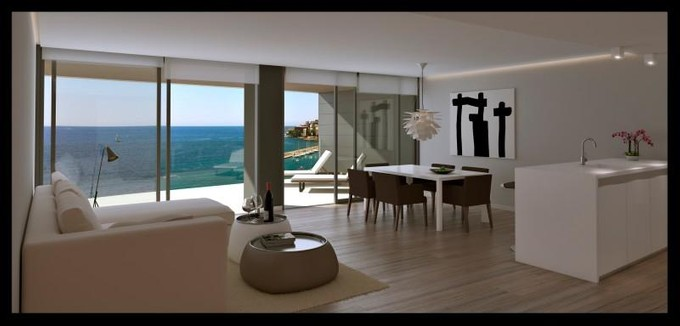 Apartment for sales at Frontline Newbuilt Apartment in Cala Major  Cala Mayor, Mallorca 07015 Spain