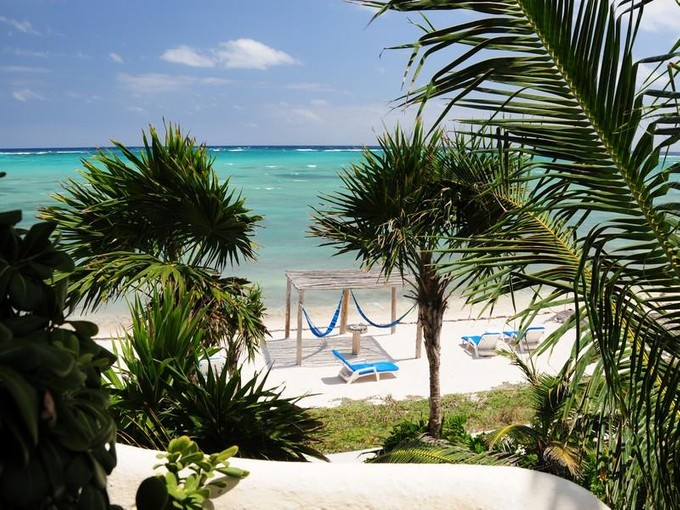 Single Family Home for sales at CARIBBEAN BEACHFRONT VILLA Tulum, Quintana Roo Mexico