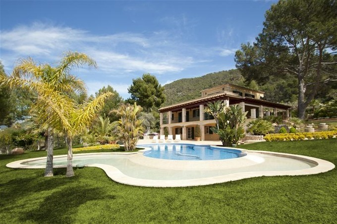 Maison unifamiliale for sales at Luxury Property with superb views of Port Andratx  Port Andratx, Majorque 07157 Espagne