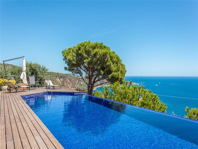 Single Family Home for sales at Extraordinary villa with stunning Mediterranean vi  Sant Feliu De Guixols, Costa Brava 17220 Spain