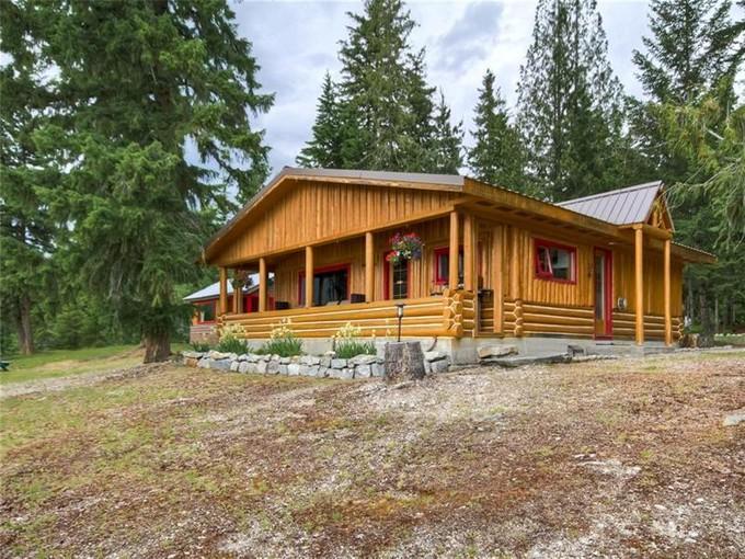 Single Family Home for sales at Adams Lake Waterfront Acreage Adams Lake, British Columbia Canada