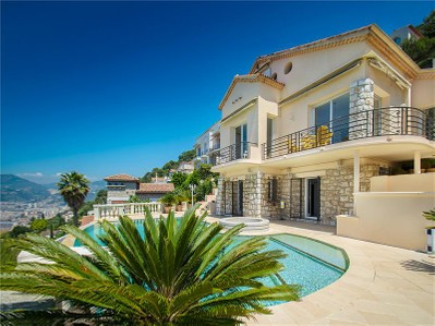 Maison unifamiliale for sales at Spacieuse villa au Mont Boron avec vue mer panoramique  Nice, Provence-Alpes-Cote D'Azur 06300 France