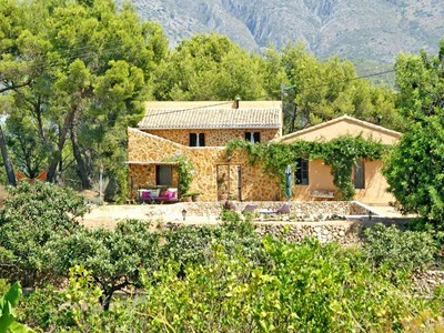 Farm / Ranch / Plantation for sales at Authentic restored country house  Albir, Alicante Costa Blanca 03510 Spain