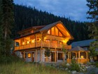 Single Family Home for  sales at Log Home with Panoramic Mountain Views 2440 Fairways Drive Sun Peaks, British Columbia V0E 5N0 Canada