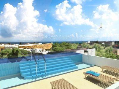 Nhà chung cư for sales at MAAN UJ ENVIROMENTAL FRIENDLY BUILDING  Playa Del Carmen, Quintana Roo 77710 Mexico