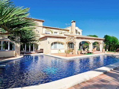 Single Family Home for sales at Beautiful luxurious finca with a lot of privacy  Moraira, Alicante Costa Blanca 03720 Spain