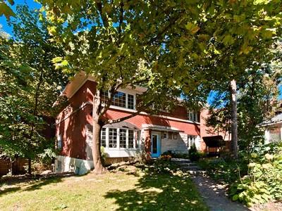 Частный односемейный дом for sales at Côte-des-Neiges/Notre-Dame-de-Grâce  Montreal, Квебек H3W 1Y7 Канада