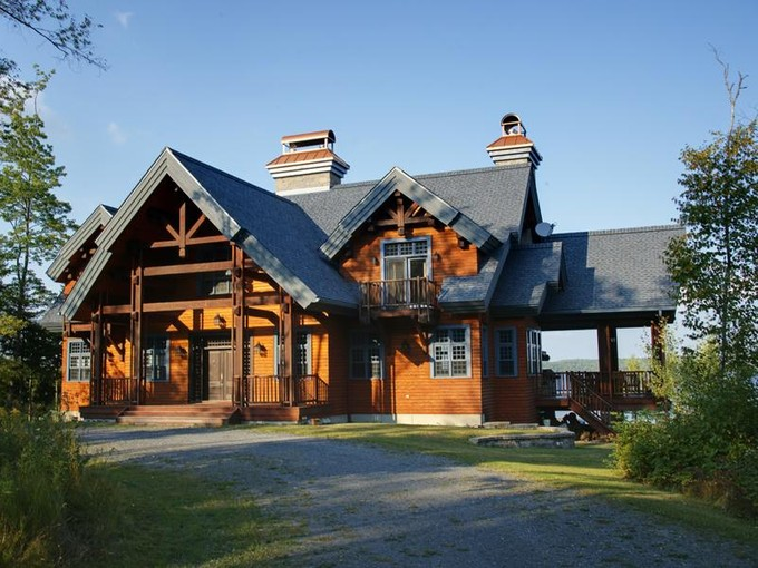 Single Family Home for sales at Prestigious Domain 750 Ch. du Hameau Quebec, Quebec G0N 1E0 Canada