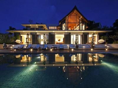 Single Family Home for sales at Stunning Direct Waterfront Villa Cape Yamu Cape Yamu, Phuket 83110 Thailand