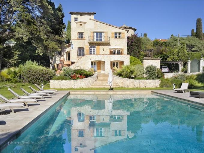 Maison unifamiliale for sales at Bastide Style Stone House  Cap D'Antibes, Provence-Alpes-Cote D'Azur 06160 France