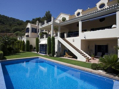 Single Family Home for sales at A superb residence with views to the Sea.  Benahavis, Costa Del Sol 29679 Spain
