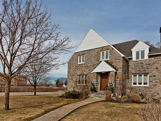 Single Family Home for sales at Beautiful stone residence in Hampstead    Montreal, Quebec H3X 3G8 Canada