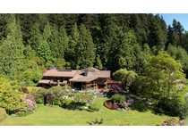 Nhà ở một gia đình for sales at A Waterfront Estate Property 5345 Indian River Drive   North Vancouver, British Columbia V7G 2T6 Canada