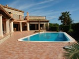 Property Of Top Quality Rustic Style Villa With Stunning Views