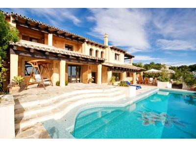Maison unifamiliale for sales at Nice Villa With Views To Sea And Golf Of Bendinat  Calvia, Majorque 07181 Espagne