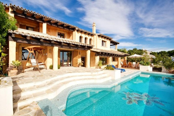 Single Family Home for sales at Nice Villa With Views To Sea And Golf Of Bendinat  Calvia, Mallorca 07181 Spain
