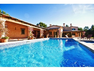 Single Family Home for sales at Villa In Finca Style Near Golf Courses  Calvia, Mallorca 07151 Spain