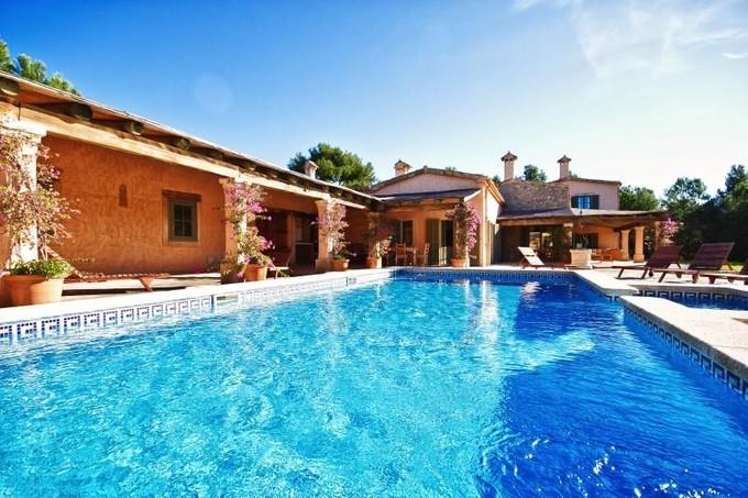 Single Family Home for sales at Villa In Finca Style Near Golf Courses  Calvia, Mallorca 07151 Spain