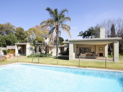 Single Family Home for sales at Cubistic ranch-style home  Johannesburg, Gauteng 2000 South Africa
