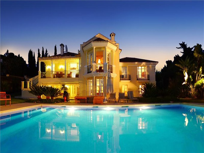 Single Family Home for sales at Villa on the heart of the golden mile  Marbella, Costa Del Sol 29600 Spain