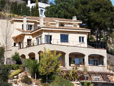 Single Family Home for sales at Spectacular villa with fantastic sea views  Blanes, Costa Brava 17300 Spain