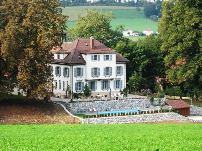 独户住宅 for sales at Magnifique château dans un havre de paix  Other Fribourg, 弗里堡 1725 瑞士
