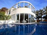 Property Of Sea view Villa in Cas Catala with tennis court