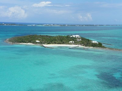 Private Insel for rentals at Foot's Cay  Guana Cay, Abaco . Bahamas