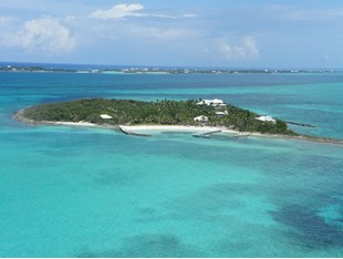 Private Island for rentals at Foot's Cay  Guana Cay, Abaco . Bahamas