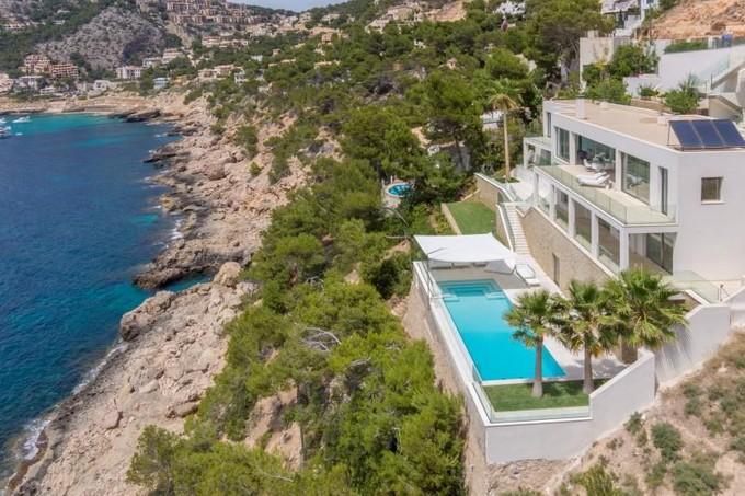 Single Family Home for sales at Modern Villa with sea access in Port Andratx  Port Andratx, Mallorca 07157 Spain