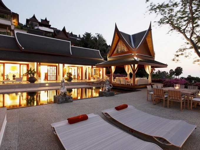 Single Family Home for sales at Classic Thai Sea View Villa  Surin, Phuket 83110 Thailand