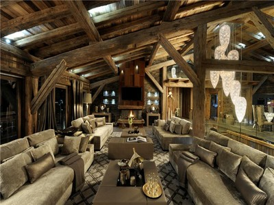 Moradia for sales at Chalet Ecrin Blanc  Megeve, Rhone-Alpes 74120 França