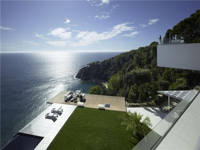 Casa Unifamiliar for sales at Spectacular designer house with infinite views  Tossa De Mar, Costa Brava 17320 España