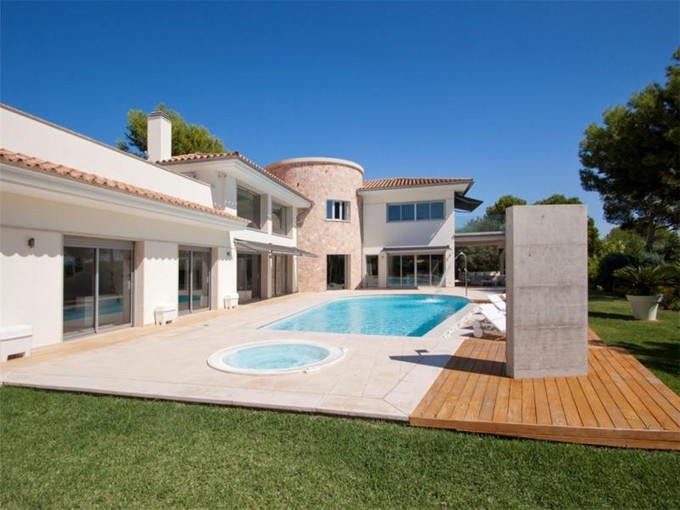 단독 가정 주택 for sales at Modern style villa in Nova Santa Ponsa  Nova Santa Ponsa, 말로카 07181 스페인