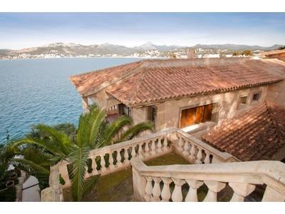 Single Family Home for sales at Seafront Villa with sea access in Santa Ponsa  Santa Ponsa, Mallorca 07181 Spain