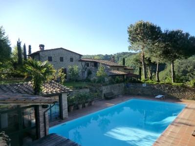 Villa for vendita at Casale di charme nel Chiante Classico Piazza San Firenze Gaiole In Chianti, Siena 53013 Italy