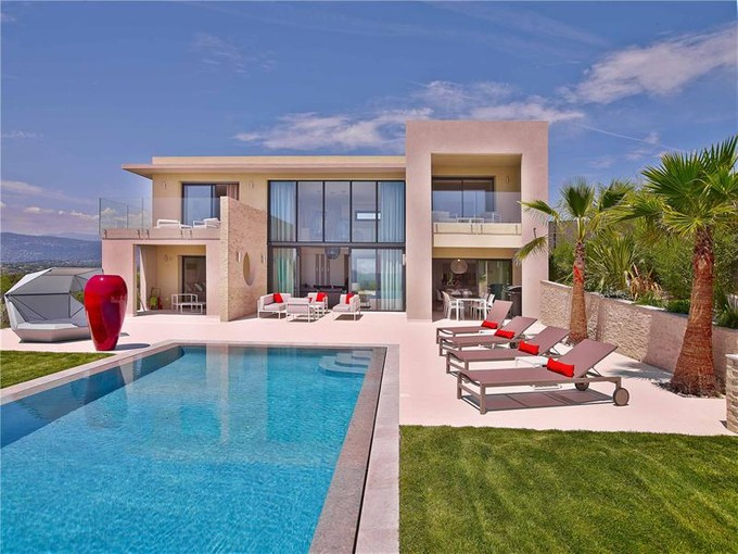 Residencial - Outro for sales at Beautiful modern villa with panoramic sea view  Other Provence-Alpes-Cote D'Azur, Provença-Alpes-Costa Azul 06550 França