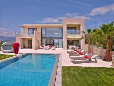 Autre Bien Résidentiel for sales at Superbe villa moderne avec vue panoramique jusqu'à la mer  Other Provence-Alpes-Cote D'Azur, Provence-Alpes-Cote D'Azur 06550 France