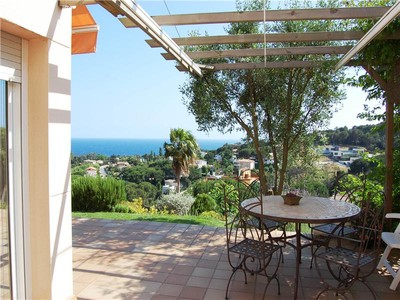 Maison unifamiliale for sales at Lovely property with sea views in Blanes  Blanes, Costa Brava 17300 Espagne