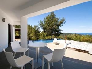 Additional photo for property listing at Villa With Fabulous Sea Views In Cala Tarida  San Jose, Ibiza 07830 Espanha