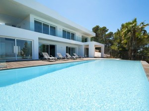 Single Family Home for Sales at Two Home Property with sea view in Cala Molí  San Jose, Ibiza 07830 Spain